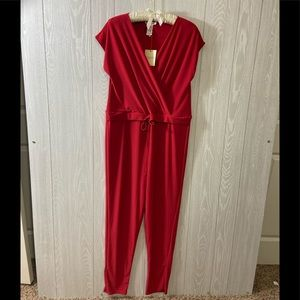 Rolla Coster Red Jumpsuit
